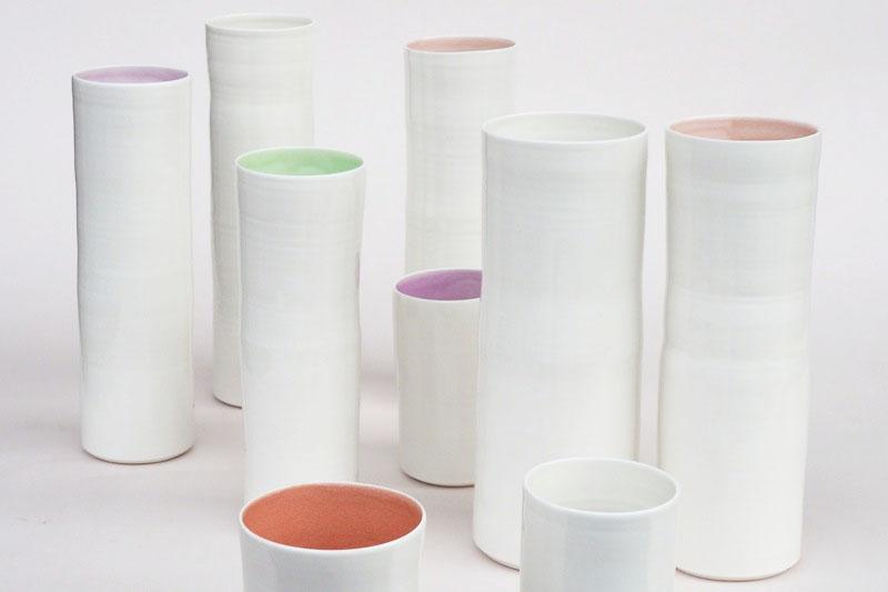 Vasen aus Porzellan